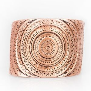 Jewelry - Bare Your SOL Hostess Reward Copper Cuff Bracelet